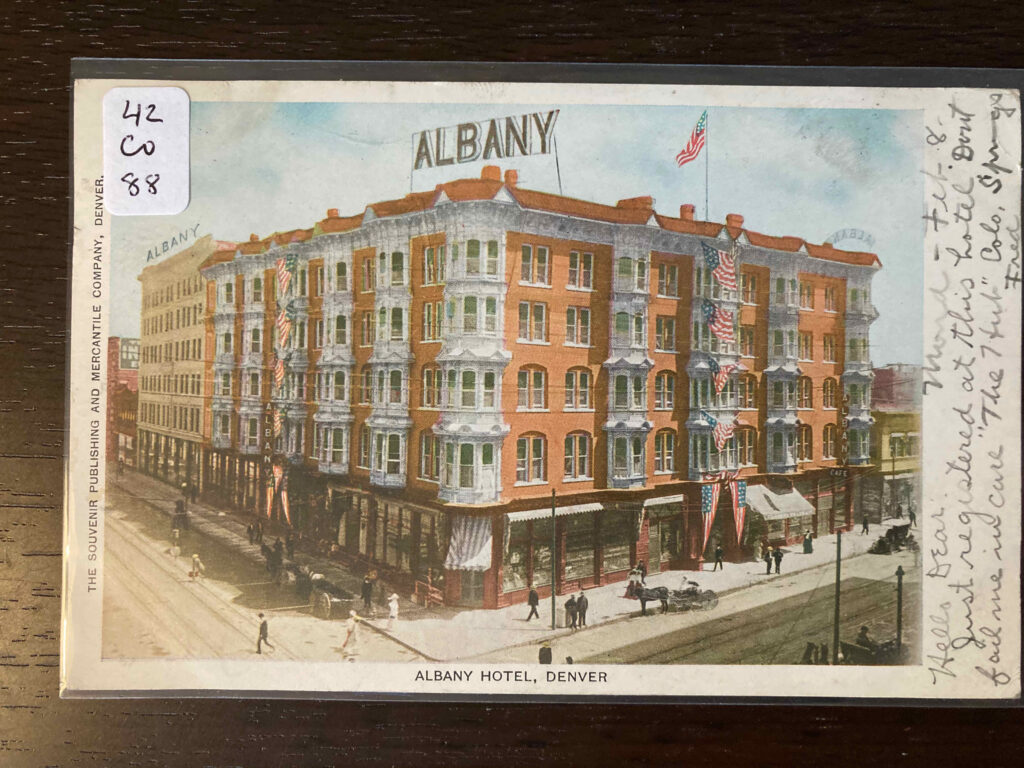The Albany, a large hotel in Denver.