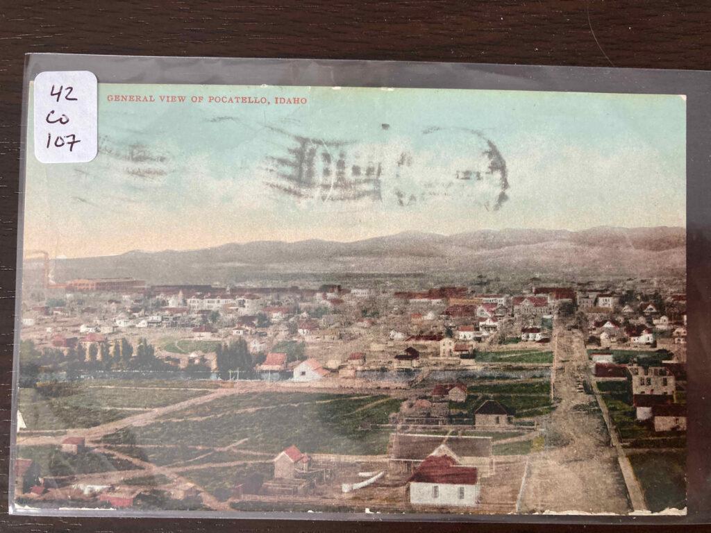General view of Pocatello, Idaho.