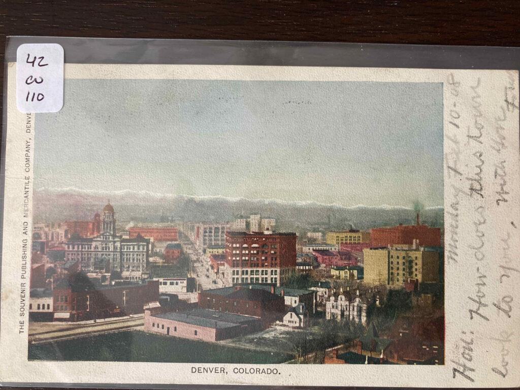 View of Denver Colorado