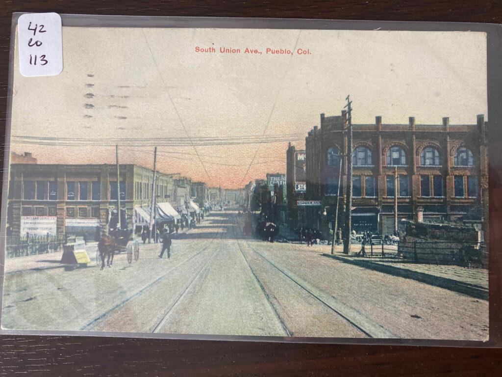 South Union Ave. Pueblo, Col.
